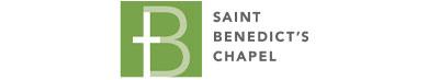Logo for St. Benedict's Chapel, Lubbock.